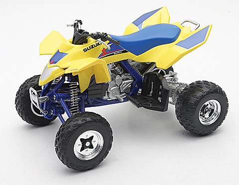 ATV Suzuki Quadracer R450 Steet Version - 1:12