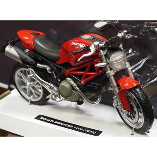 Ducati Monster 1100 2010 Rood - 1:12