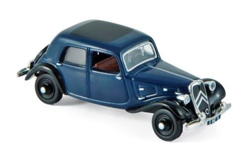 Citroen 7A 1934 Blue/Black - 1:87