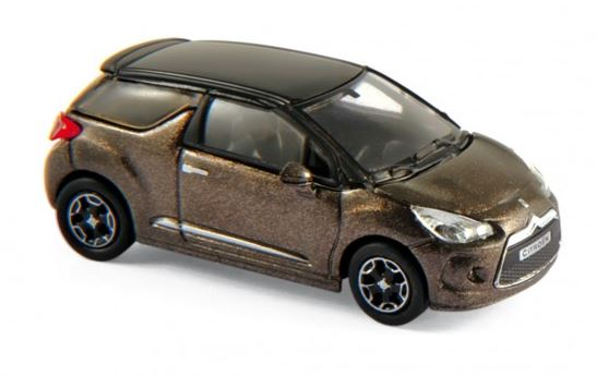 Citroen DS3 2010 Brown/Black