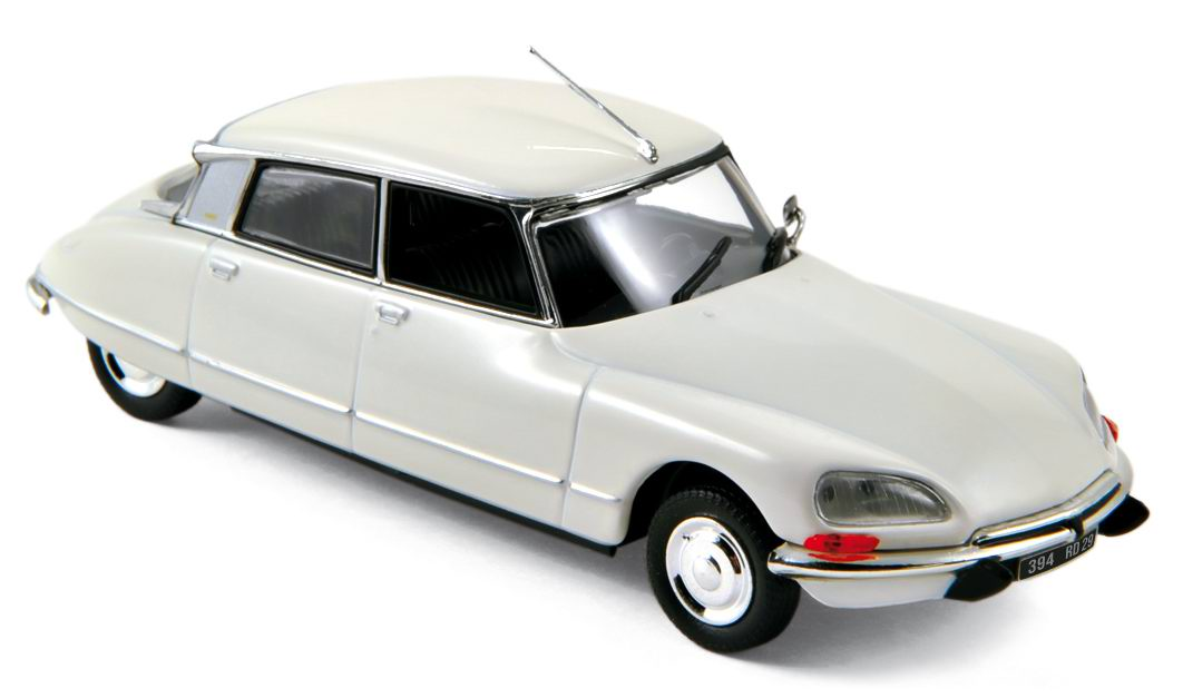 Citroen DS23 1973 White