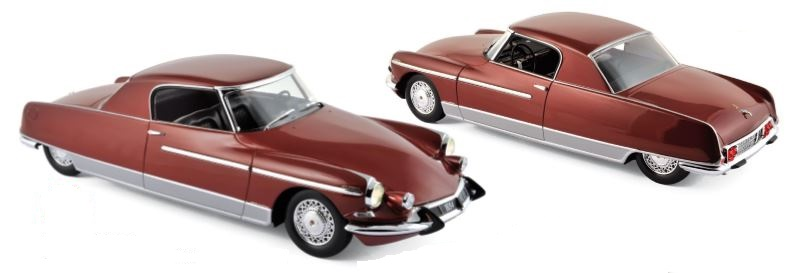 Citroen DS 19 Chapron Le Dandy 1964 Red Metallic