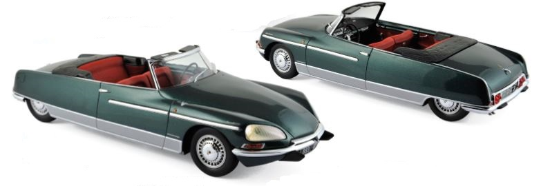 Citroen DS 21 Chapron Palm Beach 1968 Green Metallic