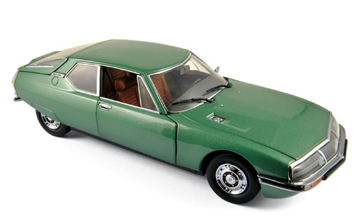 Citroen SM 1971 Groen Metallic