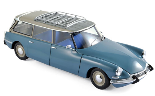 Citroen ID19 Break 1967 Monte Carlo Blauw