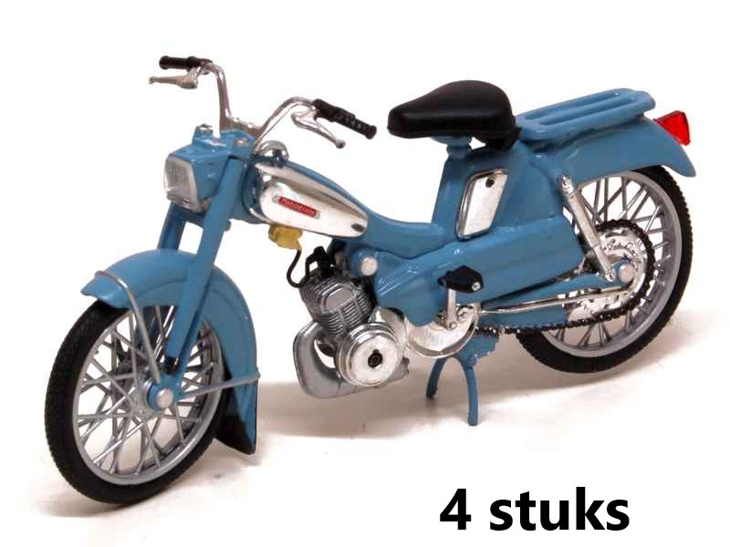 Motobecane AV88 1976 Blue 1:18 (Box 4 pieces)