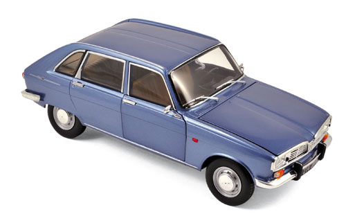 Renault 16 1968 Grey Metallic
