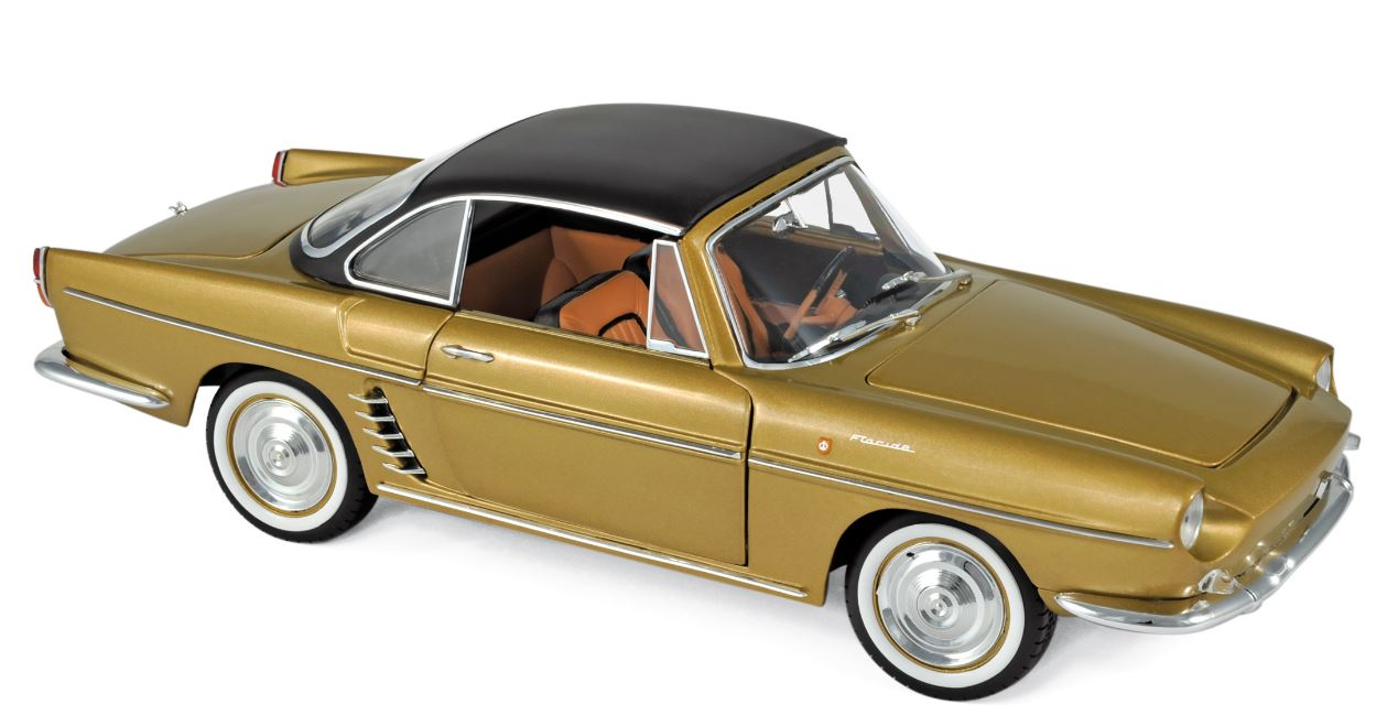 Renault Floride 1959 Bahama Yellow Metallic