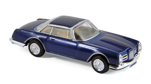 Facel Vega II Coupe 1961 Blue Metallic - 1:87