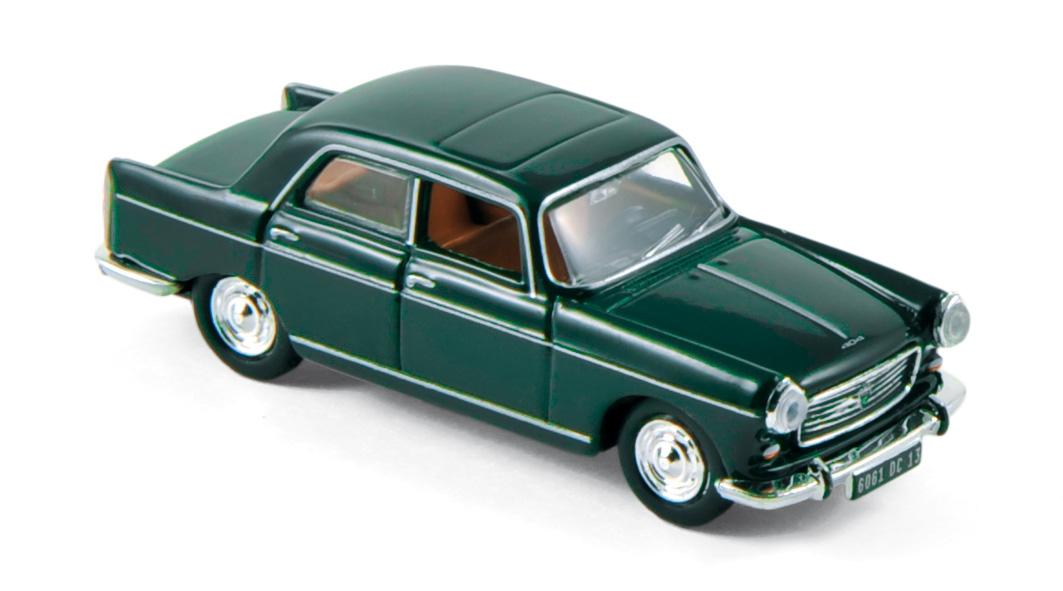 Coffret x4 Peugeot 404 1968 Green