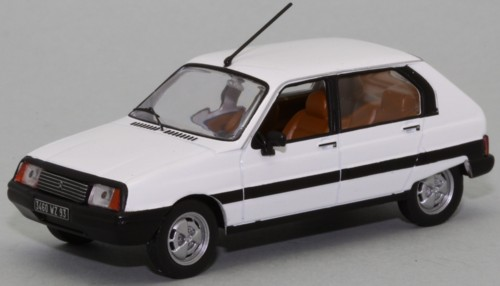Citroen Visa II 1982 White - Limited 1000