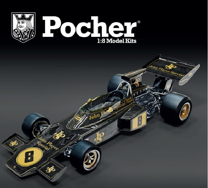 Lotus 72D British GP 1972 E. Fittipaldi - 1:8