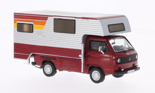 Volkswagen T3-a Camping Tisch. Rood/Wit