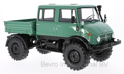 MB-Unimog 416 Doka 1975 Darkgreen/Black