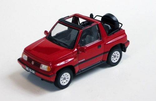 Suzuki Vitara Convertible Open 1992 Red
