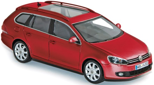 Volkswagen Golf Variant 2009 Salsa Red