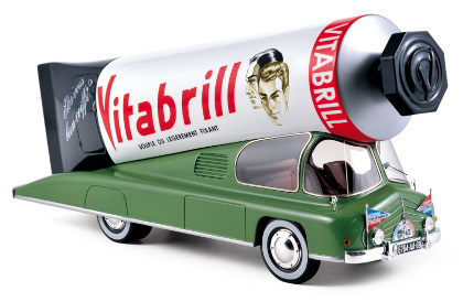 Camion Tube de Brillantine 1952