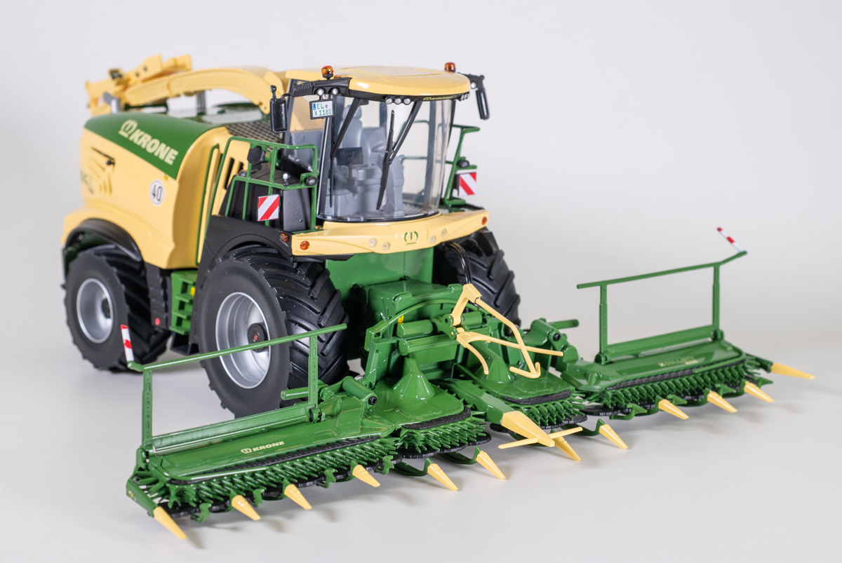 Krone Big X1180 + XCollect 900-3