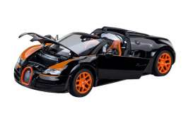 Bugatti Veyron Grand Sport Vitesse Black/Orange