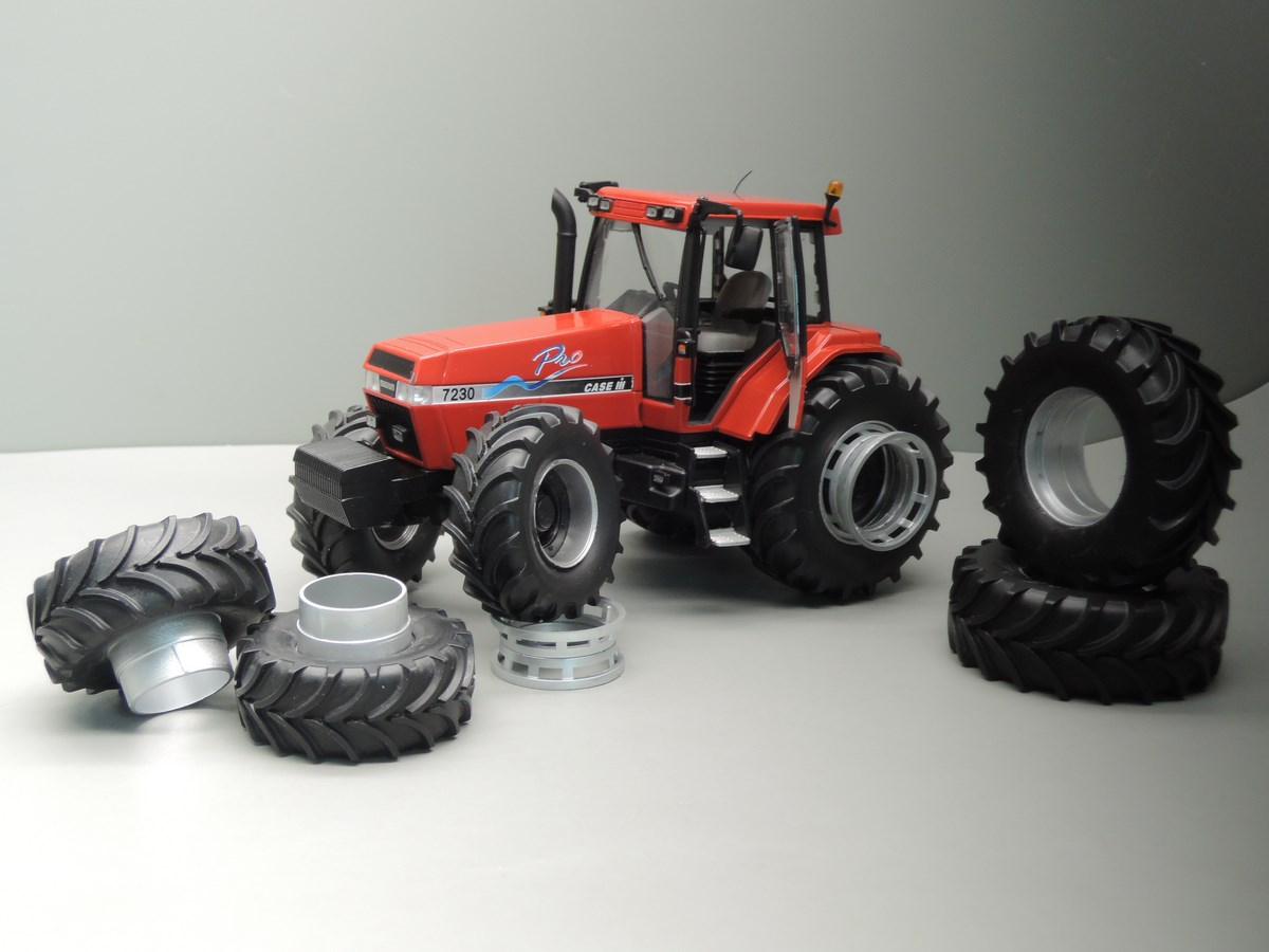 Case IH Magnum 7230 Pro 8-wheels - Limited Edition