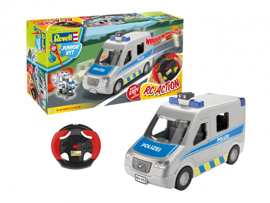 Police Van RC - Junior Kit