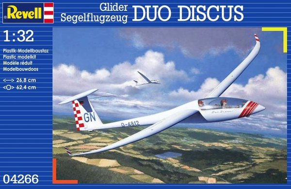 Glider Duo Discus and Engine