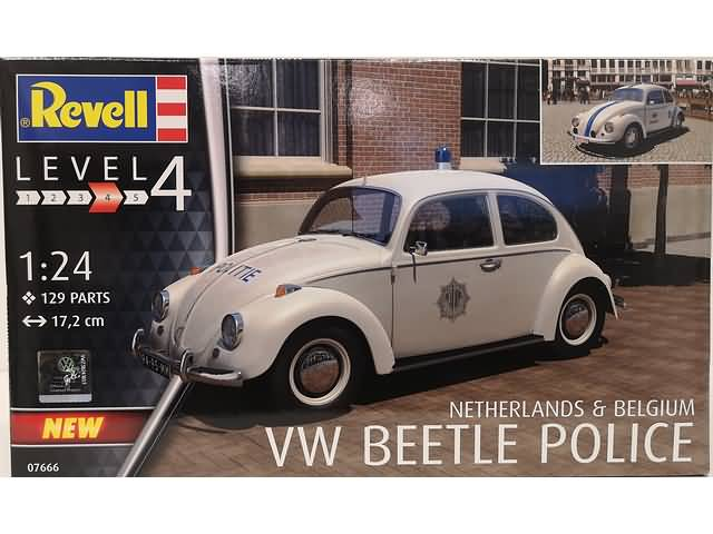 Model Set Volkswagen Beetle Police - Netherlands/Belgium