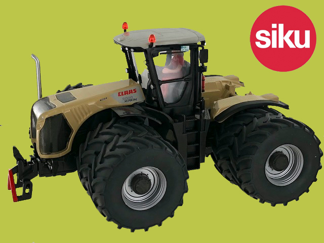 Claas Xerion 5000 with Duals Stotz - Limited edition