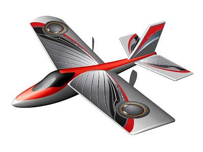 RC Sportflyer X-Twin rood