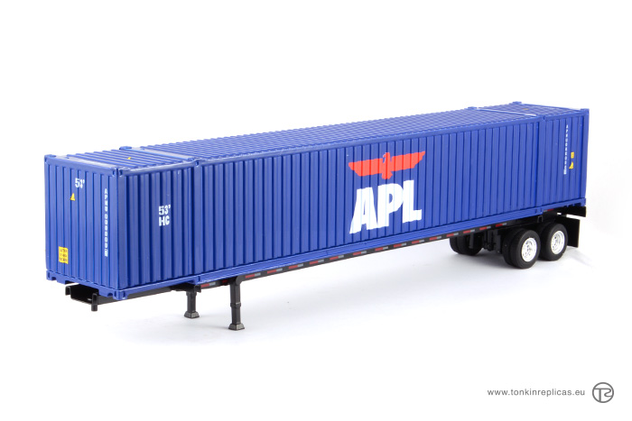Container 53ft + Trailer APL
