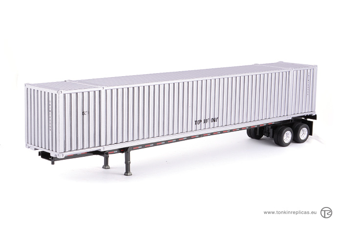 Container 53ft + Trailer Silver