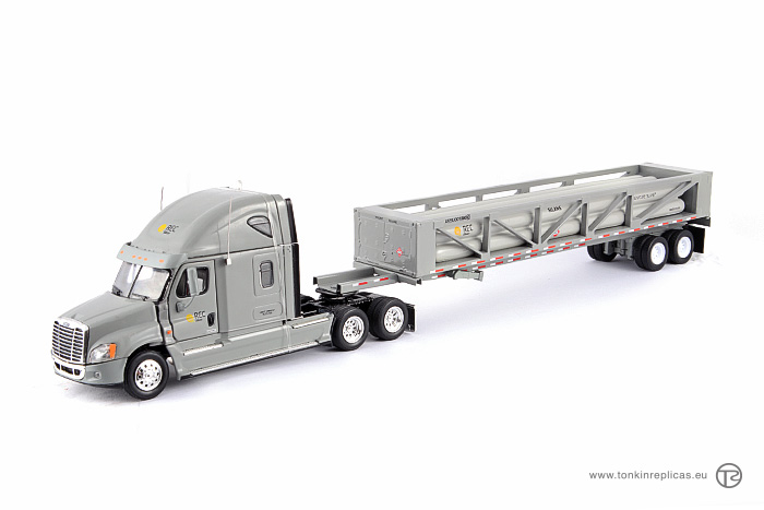 Freightliner Cascadia Sleeper Cab Raise Roof 6x4 + REC Silicon Trailer