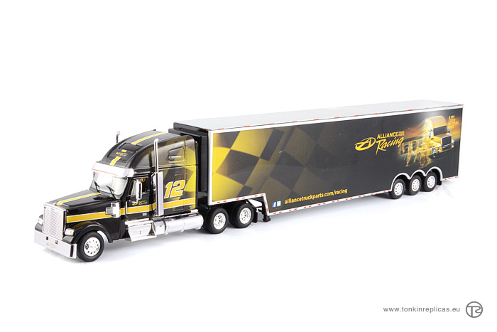 Freightliner Coronado Sleeper Cab Raise Roof + Racing Trailer Alliance Racing