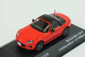 Mazda MX-5 Convertible 2013 Red/Black