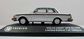 Volvo 242gt 1978 Silver with black stripes