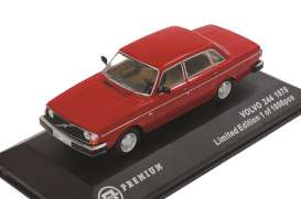 Volvo 244 1978 Red with beige interior