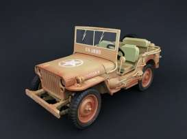 Jeep Willy's 1943 Casablanca Dessert Sand