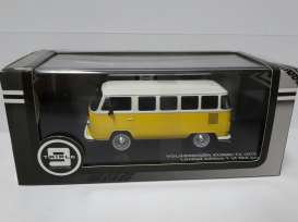 Volkswagen Bus 1976 Yellow/White with black interior