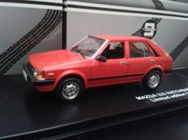 Mazda 323 Hatchback 1982 Red with Black interior