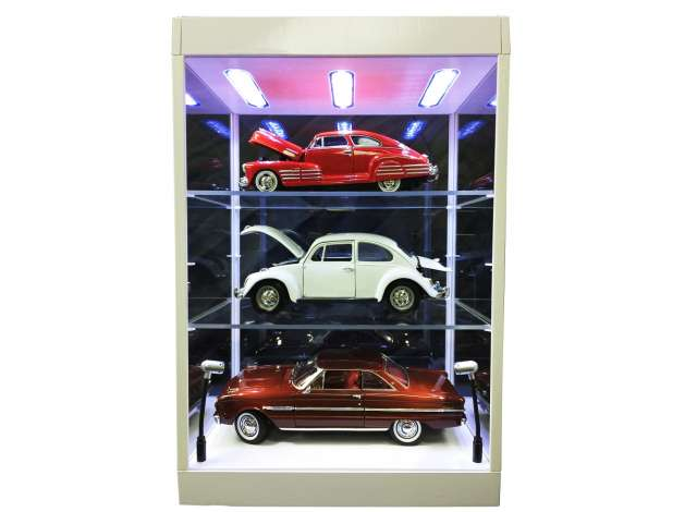 Led Showcase with 1 or 2 shelves with Led lights