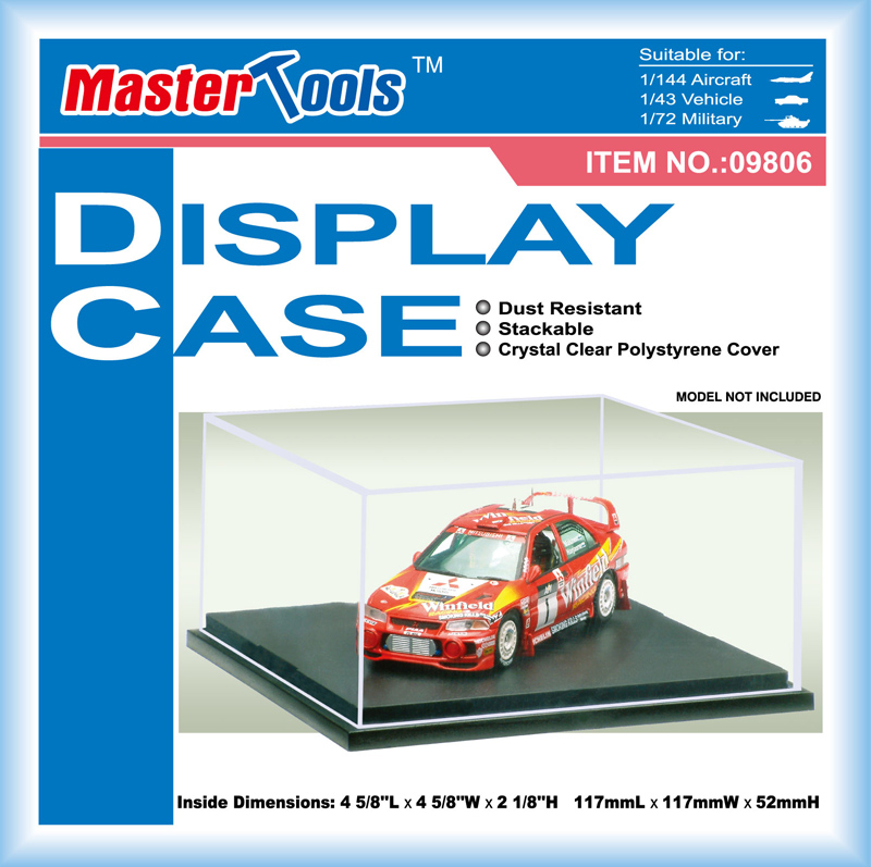 Display Case - 117x117x52mm