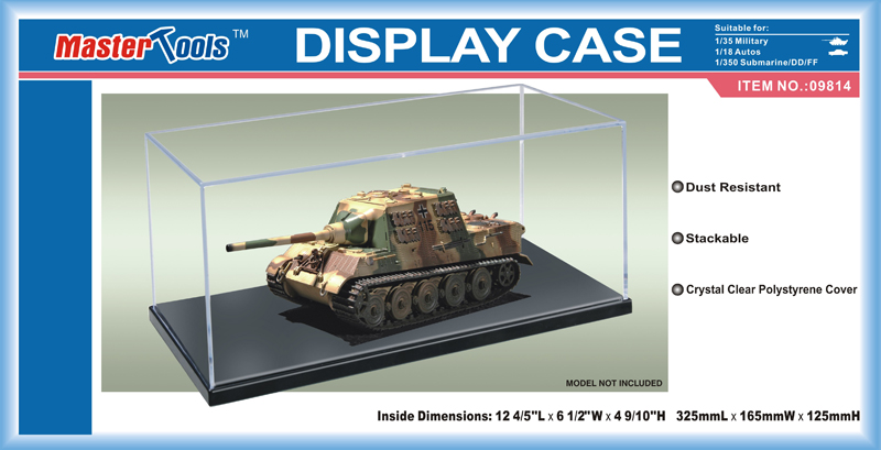 Display Case - 325x165x125mm