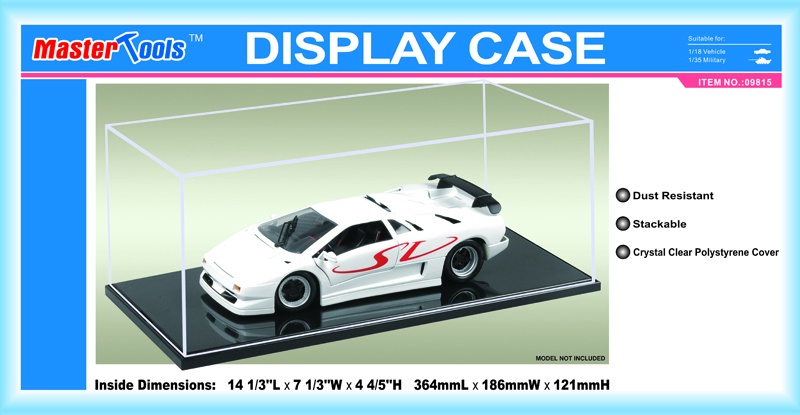 Display Case - 364x186x121mm