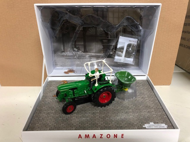 Deutz D6005 with Amazone ZA - Limited Edition