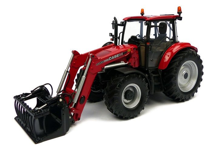 Case IH Farmall 115 U with Frontloader