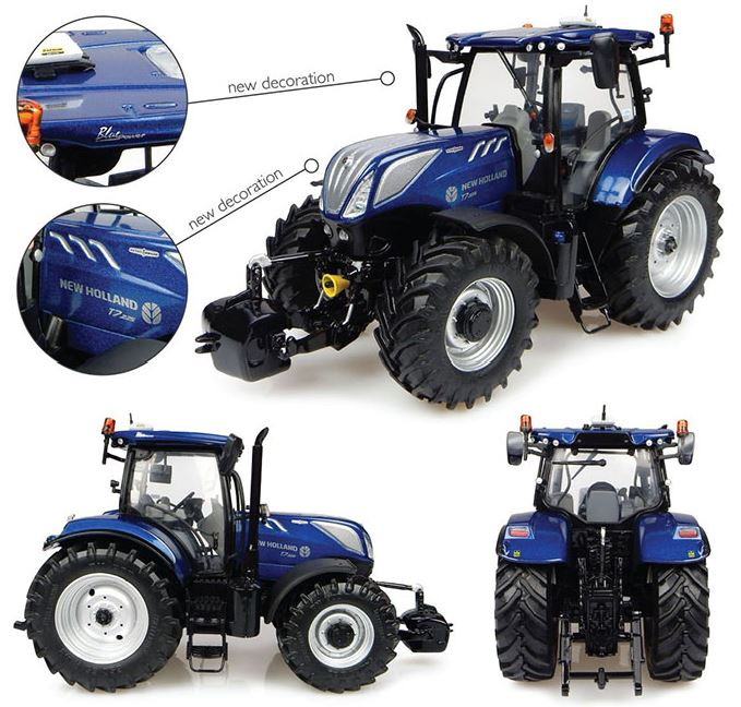 New Holland T7.225 Blue Power (2016) New Decals