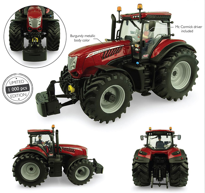 McCormick X8.680 Burgundy Metallic - Limited Edition