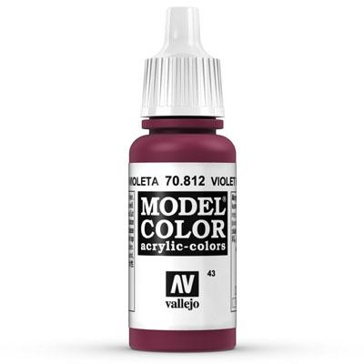 MODEL COLOR VIOLET RED