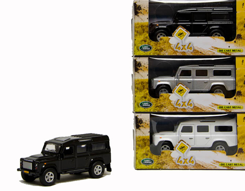 DCPB Land Rover Defender Light and Sound 3 Assorti