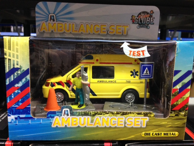 DCPB Ambulance met Accessoires Light and Sound